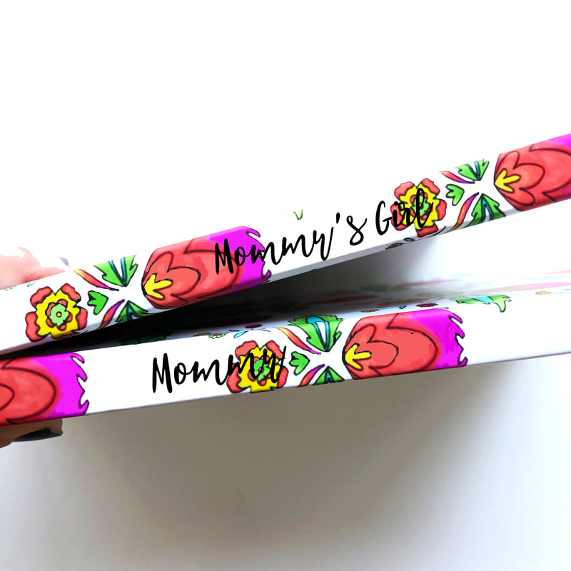 Custom journal Mommy and Mommys Girl Mothers Day Gifts