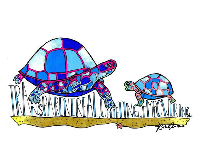Rachel Antonia Designs first commission True Mother two turtles